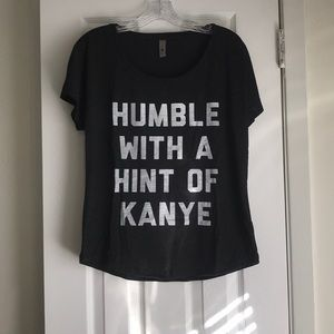 Humble With A Hint Of Kanye Relaxed Fit T-Shirt